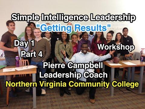 Getting Results: Simple Intelligence Leadership: Northern Virginia Community College (Part 4)