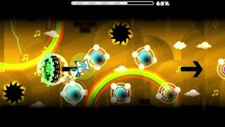 "Geometry Dash (2.?) - ""The White Knife"" 100% by Blue Rose (DEMON)"