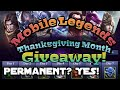 Download FREE heroes and skins Thanksgiving event - Mobile Legends in Mp3, Mp4 and 3GP
