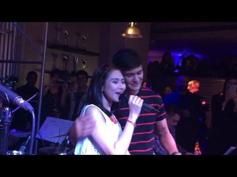 Sarah Geronimo Sings thinking Out Loud To Matteo Guidicelli video