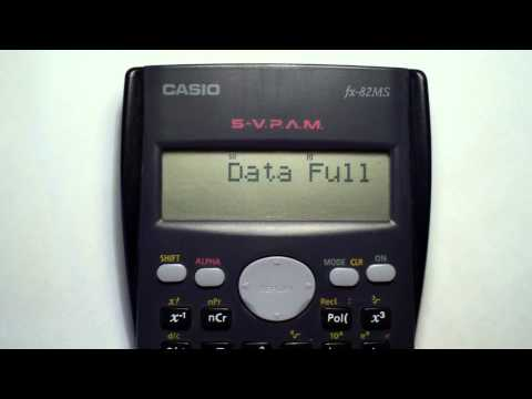 Craquea tu calculadora casio fx-82 ms