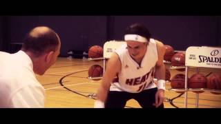 Gareth Bale   NBA UK #HalfCourt challenge!!