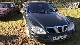 Starting 2000 Mercedes-Benz w220 S500 After Half Year (1080p)
