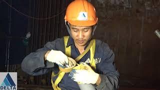 Quy trình thi công topdown cột vách tầng hầm