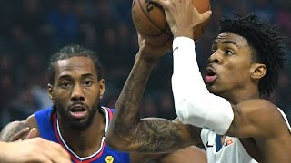 LA Clippers vs Memphis Grizzlies Full Game Highlights | January 4, 2019-20 NBA Season