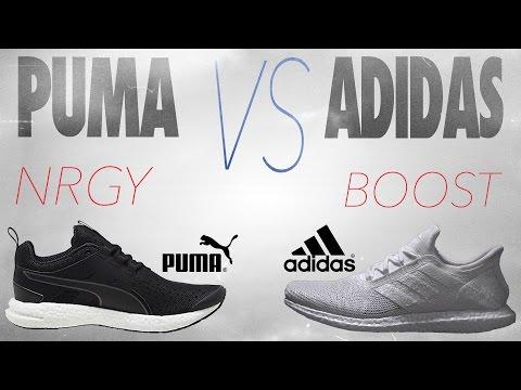 Puma NRGY vs Adidas Boost!