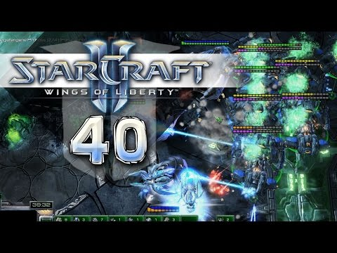 Starcraft 2: Wings of Liberty #040 - Die Schilde fallen langsam - Let's Play [Kampagne]