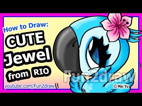 Jewel Rio Drawing ▶ How to Draw a Jewel From