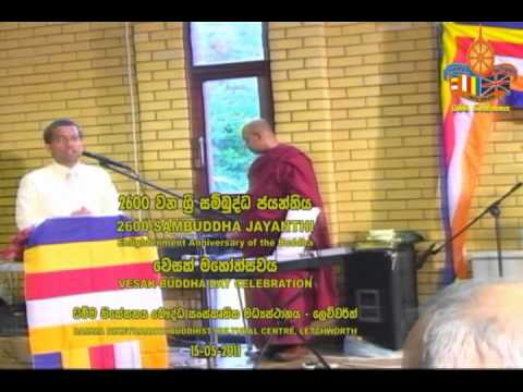 2600 Sambuddha Jayanthi Pooja  Ven Akurala Samitha   Dhamma Nikethanaya 15 5 2011 video