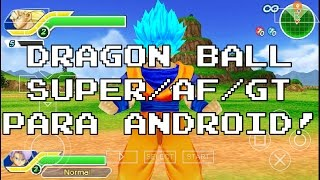 Juego Dragon Ball Super/AF/GT para Android y PC [HD]