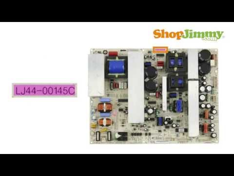 Samsung TV Repair - Part Number Identification Guide for Power Supply Boards - How to Fix LCD TVs
