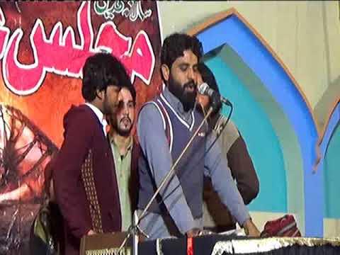Zakir  Majlis 25 Safar 2017 Jhang Sadar bani zakir zargham abbas bukhari