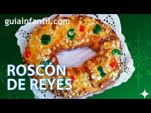 Receta de Roscón de Reyes para la Navidad