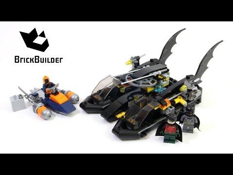 Lego Super Heroes 76034 The Batboat Harbor Pursuit - Lego Speed Build