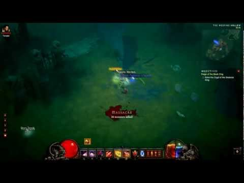 Diablo 3: Skeleton King Inferno Magic Find Run