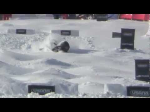 2012-2013 Mogul Skiing Crashes