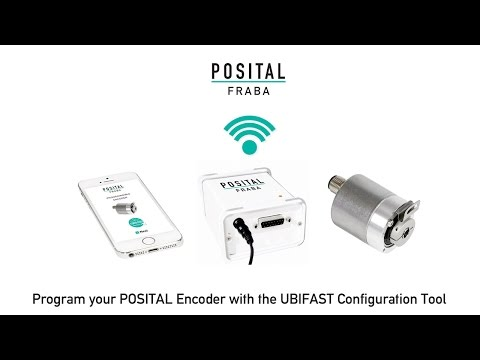 Programming a Rotary Encoder: How to Program a POSITAL Encoder with the UBIFAST Configuration Tool