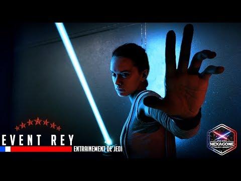 SWGOH - Event héroique Rey (entrainement de Jedi) #1