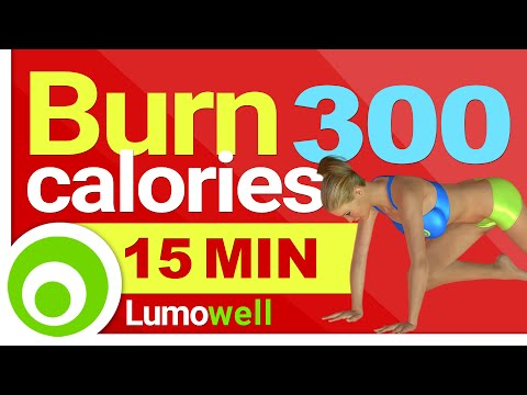 Burn 300 calories in 15 Minutes at Home - Fast Workout for Weight Loss
