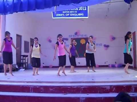 Bollywood Medley Dance - Farewell Batch 2009-2012 , Daulat Ram College, Dept. of English