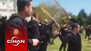 Թուրք ոստիկանները բռնության են ենթարկել Հայոց ցեղասպանության հիշատակը հարգող ուսանողներին