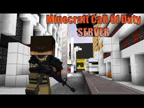 Minecraft Server Call Of Duty 1.7.2 - 1.7.4 - 1.7.5 | No Premium - No hamachi - 24/7