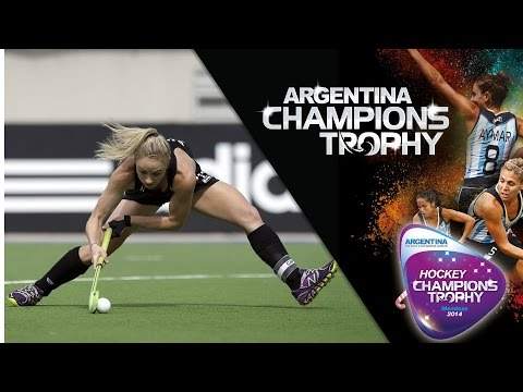 New Zealand vs Australia - Women's Champions Trophy 2014 Argentina Group A [6/12/2014]