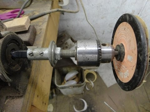 Homemade All In One Knife Grinder Buffer Lathe Drill