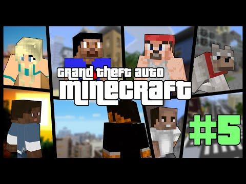 Minecraft Grand Theft Auto #5 with Vikkstar (Minecraft GTA 5 Mod)