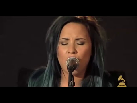 Demi Lovato Performs Skyscraper Exclusive Set At The Recording Academy 2013