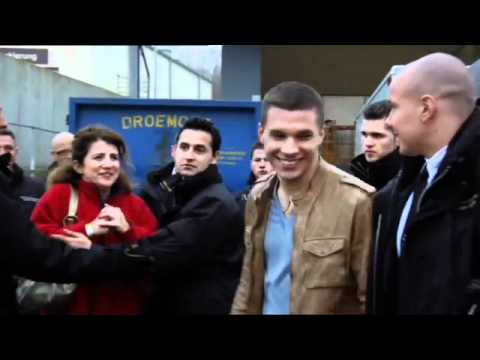 Lukas Podolski - Making of REWE