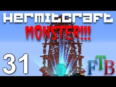 Hermitcraft FTB Monster Ep. 31 - Rule Number 27 & TNT8 w/ Sl1pg8r !!!