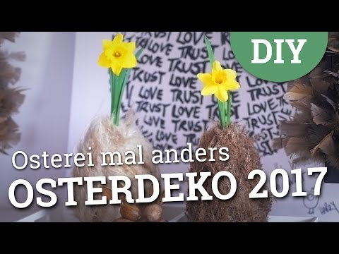 Osterdeko 2017 - Osterei mal anders