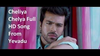 Yevadu - Cheliya Cheliya Full HD Song From Yevadu || Ram Charan, Allu Arjun, Sruthi Hasan