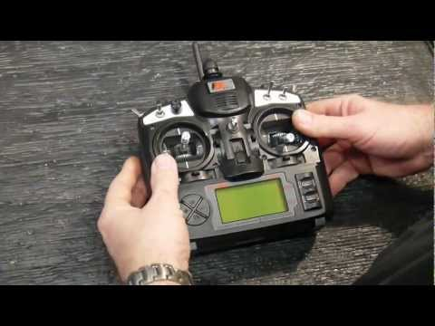 RCHAH. Turnigy or FlySky 9X radio how to change Mode 1-2