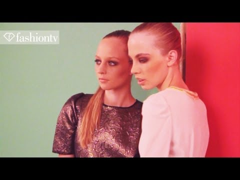 Fullah Sugah Photoshoot Autumn winter 2012 By Demode| Fashiontv - Ftv video