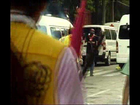 Thai Police kill People