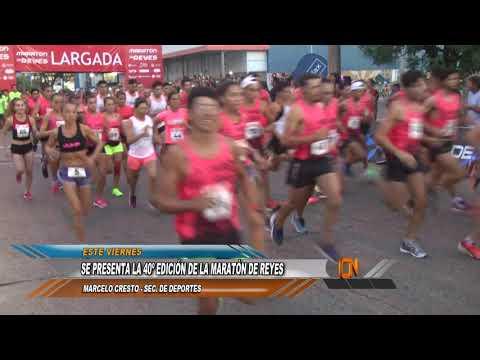 Este viernes se presenta la Maratón Internacional de Reyes 2019: 40 años de pasión