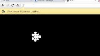 How To Solve Shockwave Flash Crash Problems On Google Chrome 100% Working!!