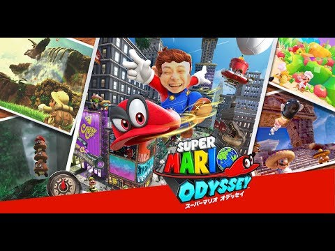 【Backstairs 貝克】【實況】 Super Mario Odyssey Day1