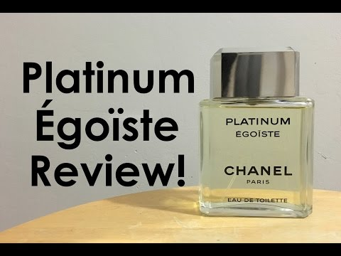 Platinum Égoïste by Chanel Fragrance Review | CascadeScents