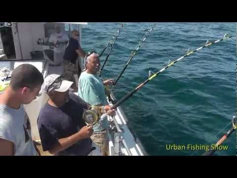 Montauk Shark Tournament 2012 Urban Fishing Show Season 2 Episode 5