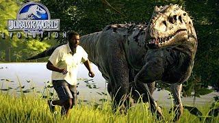 Jurassic World Evolution - INDOMINUS REX Escapou!, Visitantes Em PERIGO! | (#11) (PT-BR)