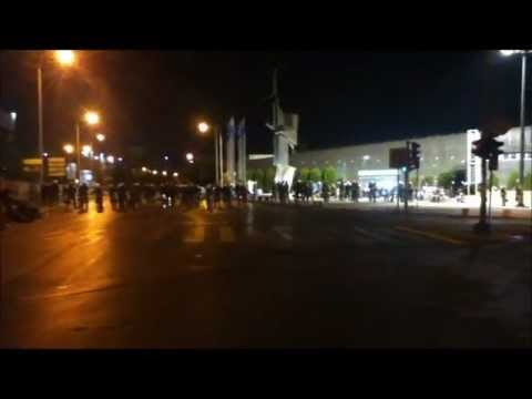 Police State at Intl Trade Fair Thessaloniki Greece 2012