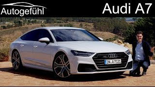Audi A7 Sportback FULL REVIEW all-new 2018/2019 neu - Autogefühl