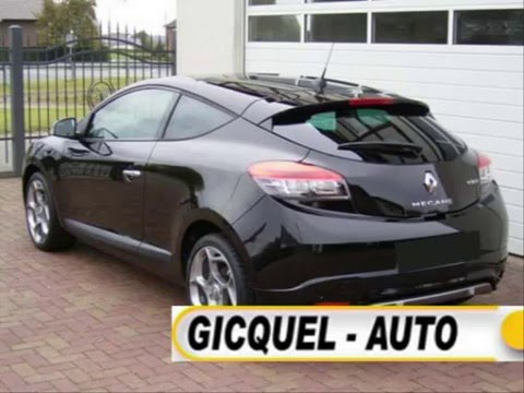 gicquel auto paris renault megane coupe gt 2 0 dci 160 cv youtube. Black Bedroom Furniture Sets. Home Design Ideas