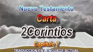 Carta 2Corintios  - Traducción Lenguage Actual