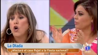 Así fue la tensa discusión entre Loles León y Curri Valenzuela
