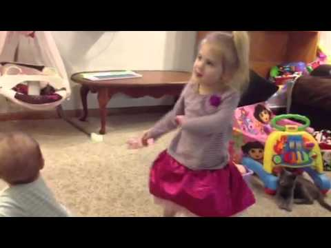 Scarlett a little to young for this dancing