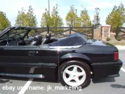 1990 Ford Mustang Gt Convertible For Sale Youtube